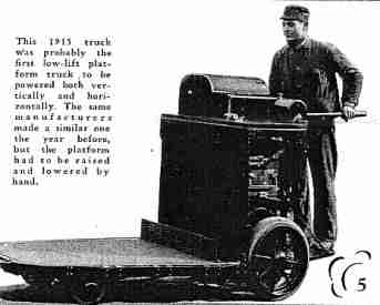 history of forklifts pallets