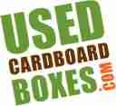 used cardboard boxes logo large