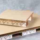 Hexacomb paperboard pallet