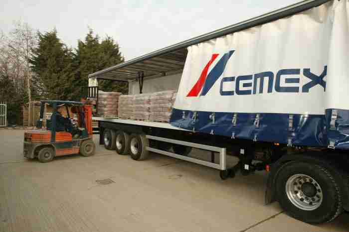 CEMEX UK pallet retrieval