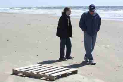 pallet on beach small