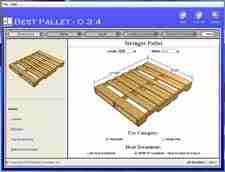 Best Pallet dimension input screen