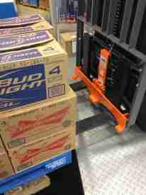 Product protector reduces pallet damage