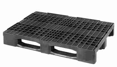 2)The CABKA-IPS 888 PO is a heavy duty pallet capable of carrying 1000kg in racking and 3500kg in transit.