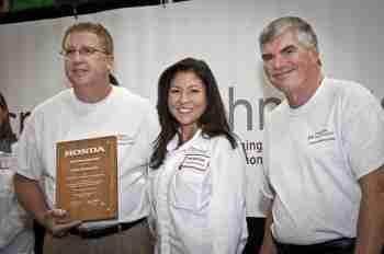 CTI Receives Honda Special Recognition Award