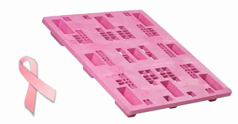 LITCO INTERNATIONAL PINK PLASTIC PALLETS