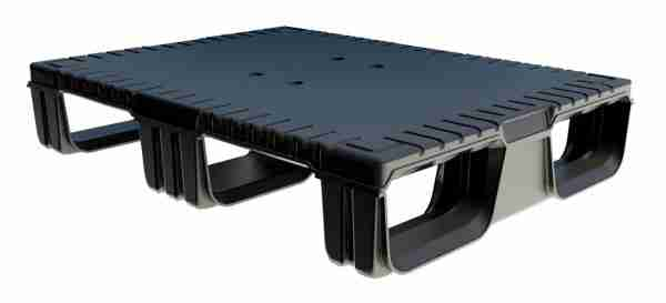 Patrick Griffin will be promoting the Uni-Pallet line, including the 600x800 half pallet, pictured above.