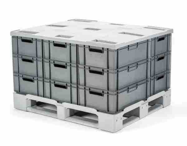 pallet and lid system from GoBox