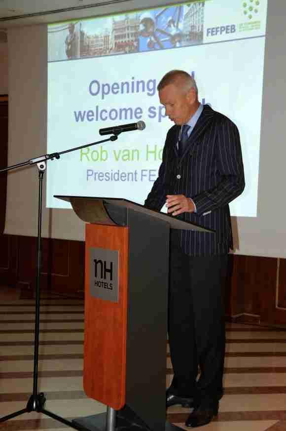 FEFPEB President Rob van Hoesel