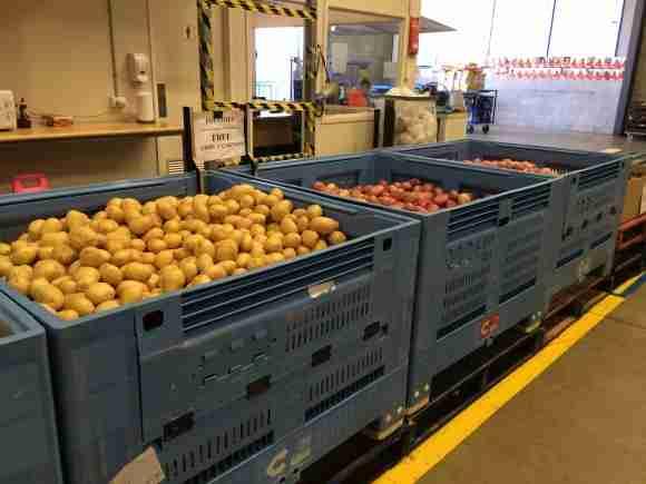 FB2 bins at work at Foodbank