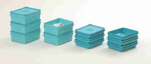 Refresh reuseable lidded boxes