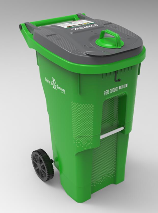 Rehrig Pacific Oganic Waste Container