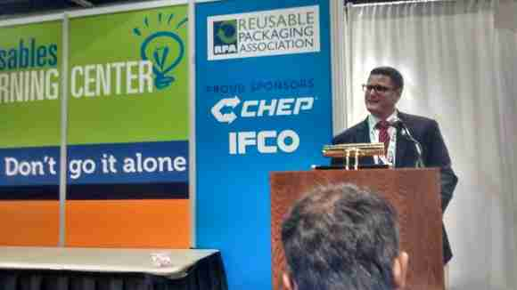 Josh King of IFCO shared best practices for warehouse automation.