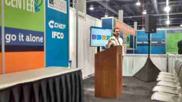 Luis Rivera of CHEP introduced the company's Solutions Portfolio