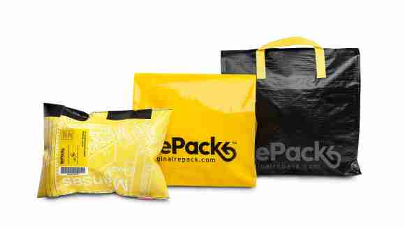 What a great idea. A reusable pack for ecommerce home delivery!