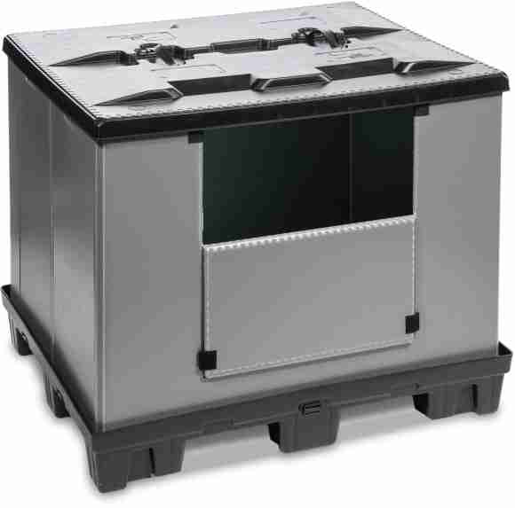 The GoBox 1210 K PAC _ the best in class collapsible pallet box
