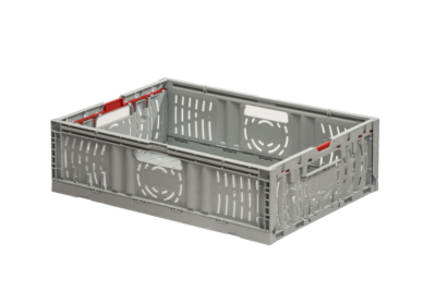 The GoFold Twistlock box is ideal for rapid order picking with handles on all four sides