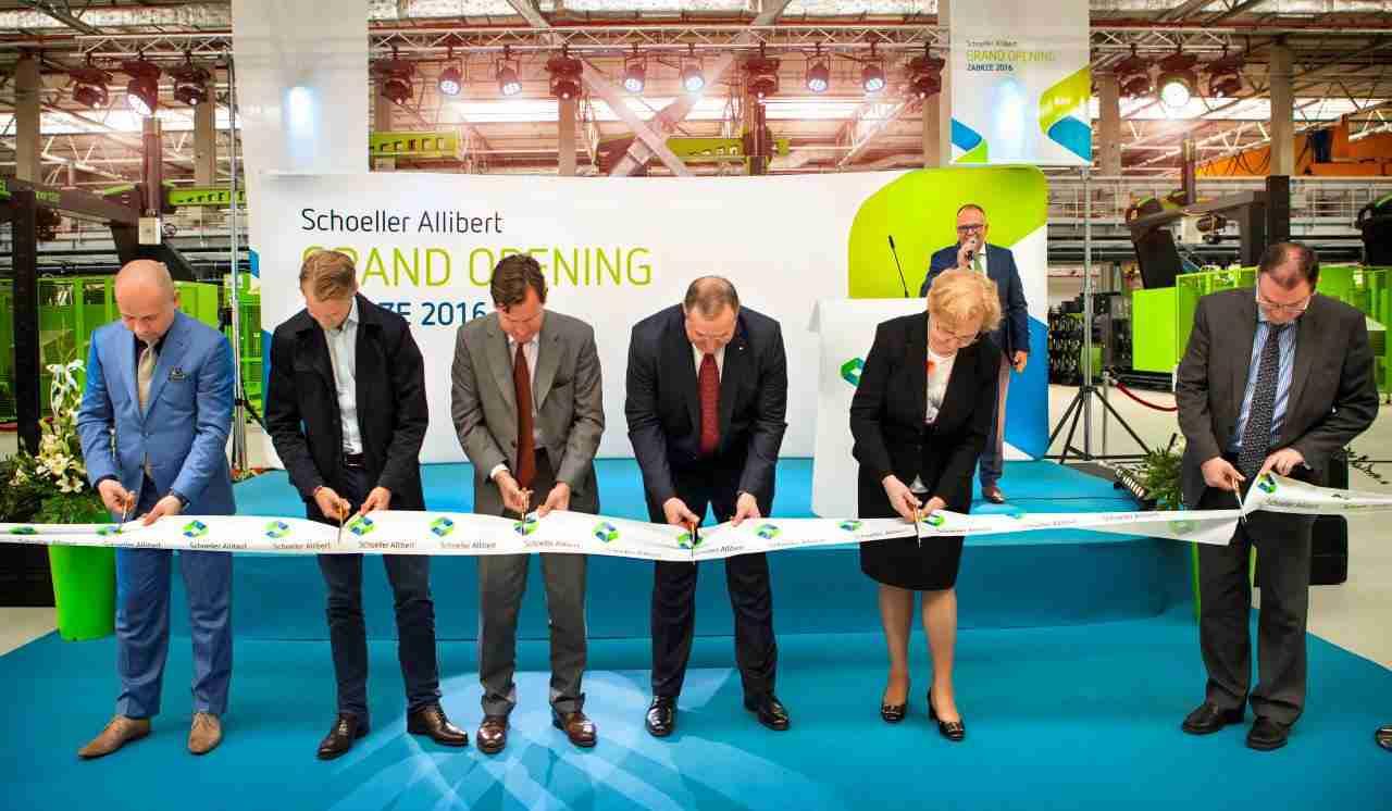 Schoeller Allibert plant opening