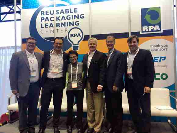 The bulk packaging panel provided valuable insights at the Reusables Learning Center