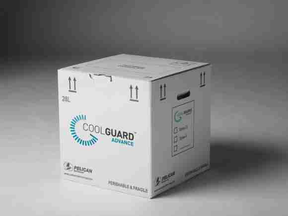 Coolguard packaging Pelican Biothermal