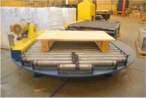 conveyor turn