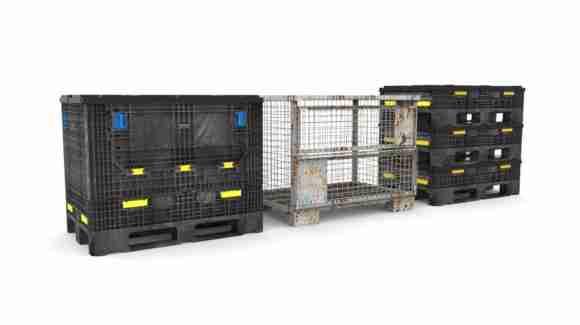 Gitterbox bulk container