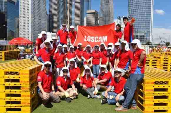 Loscam Greater China team e1504463296945