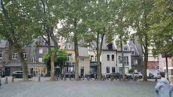 Maastricht, outside Crowne Plaza Hotel