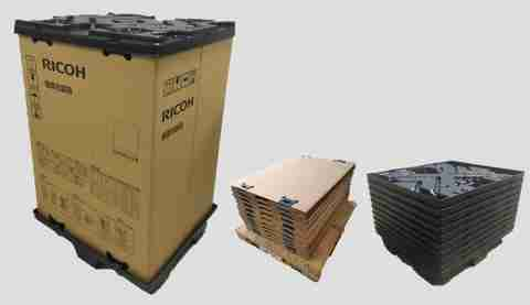 reusable packaging RICOH