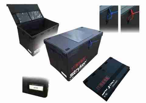 foldable, returnable box