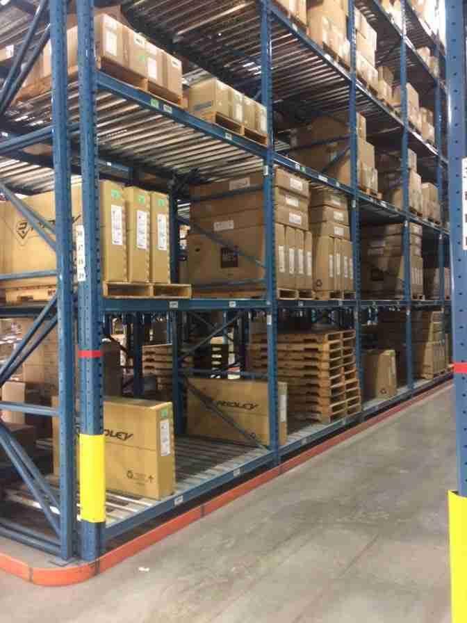 warehouse racking MEC