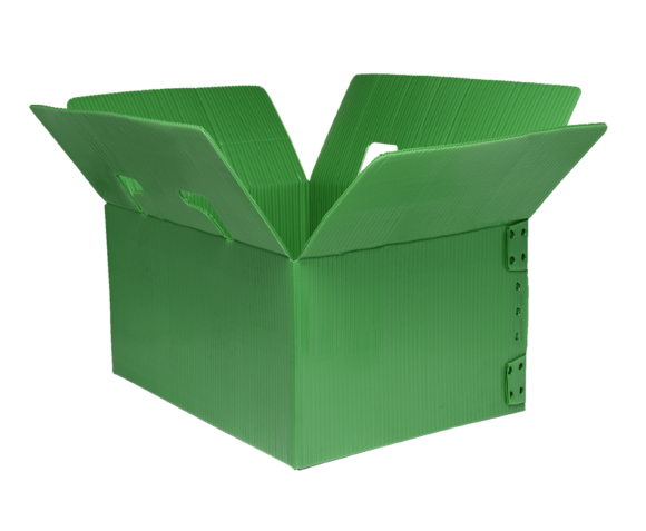 corrugated plastic box, reusable