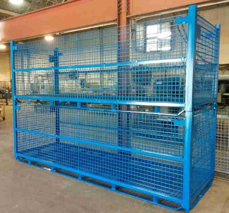 Ultratainer wire mesh container