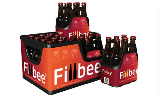 DS Smith Fillbee reusable beverage crate