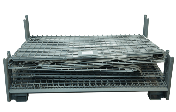Ultratainer integrated dunnage