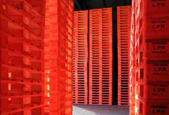 LPR pallets La Palette Rouge