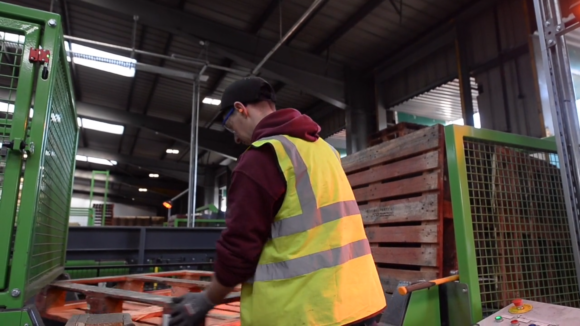 IPP pallet sorting UK James Jones