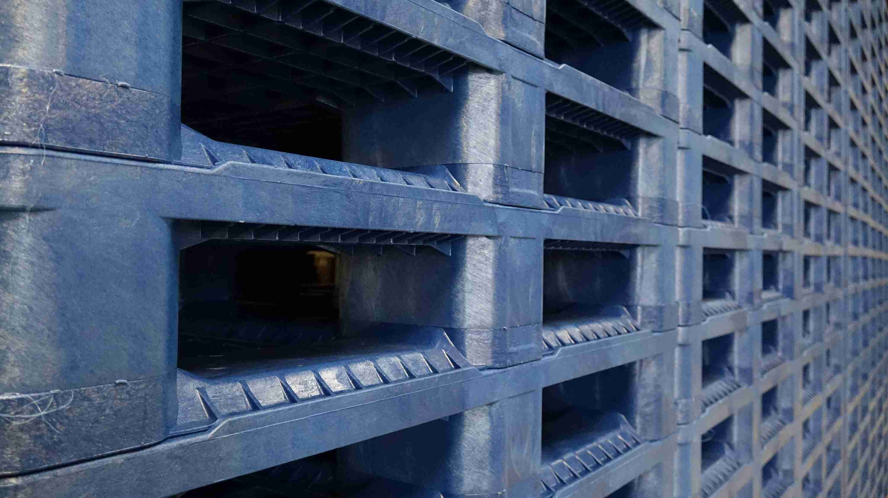 plastic pallets recycled content