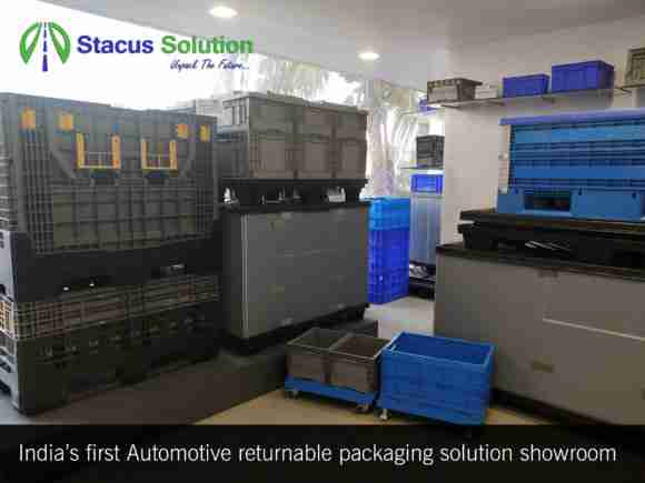 Stacus reusable packaging India