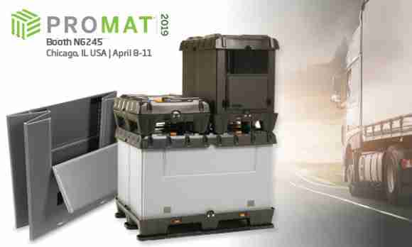 ProMat2019 reusable packaging