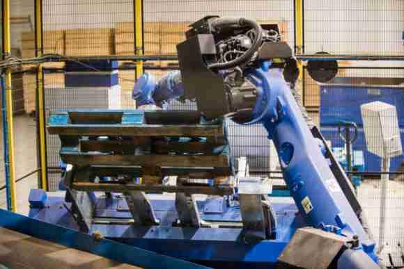 CHEP Austria pallet automation