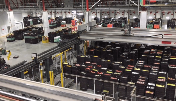 Polymer Logistics RPCs automated warehouse