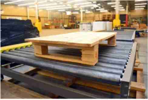 pallet design conveyor