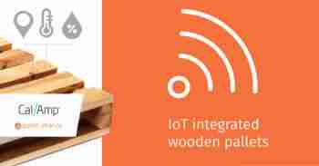 IoT wood pallets
