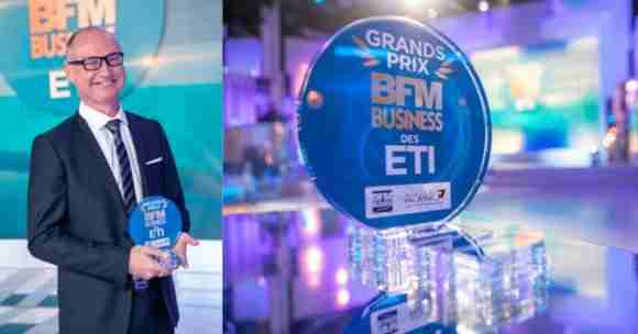 Grands Prix BFM Business des ETI award