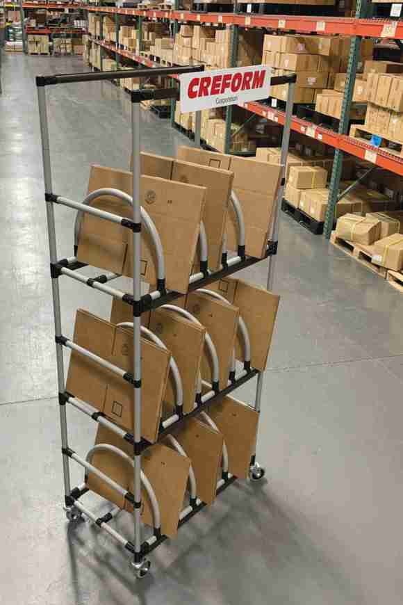 Creform supply storage cart