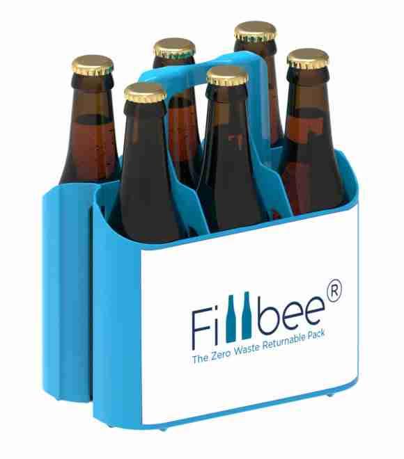 Fillbee reusable packaging