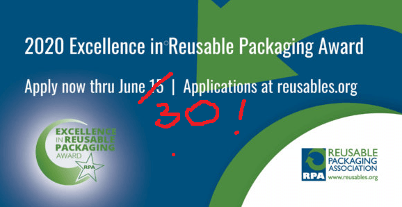 RPA award excellence in reusable packaging