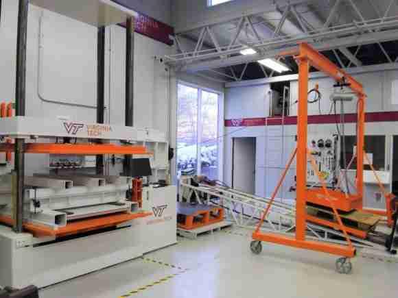 Virginia Tech pallet lab