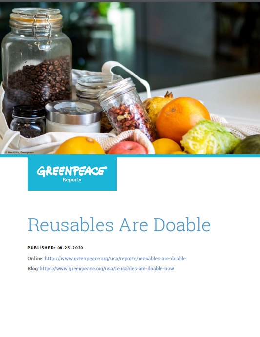 Reusable packaging Greenpeace